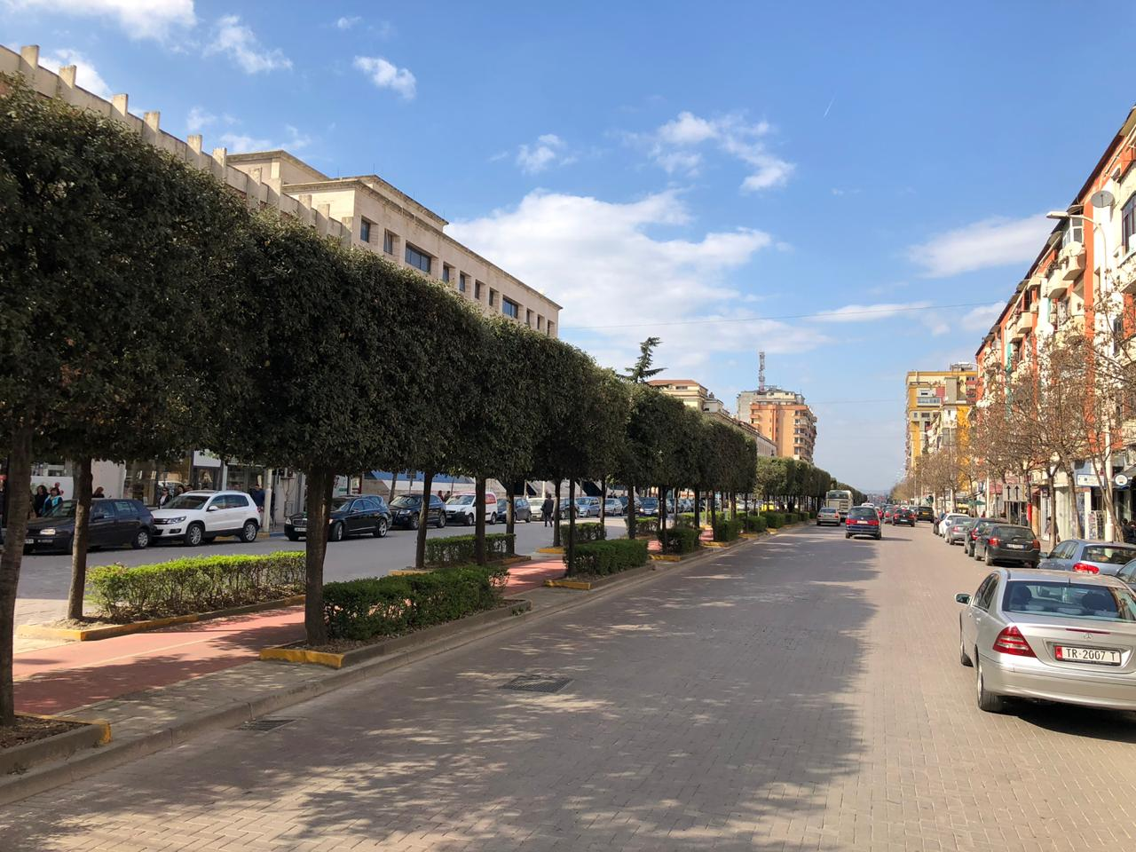€5,7 Million for the Rehabilitation of the 600-meter Zogu I Boulevard