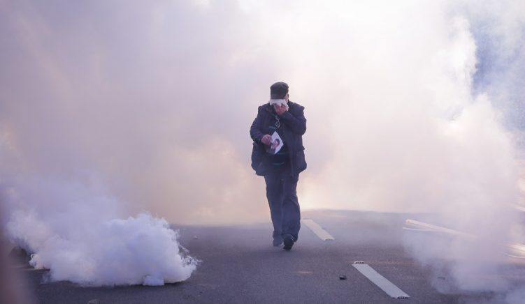 Tear Gassing Crowds Indiscriminately Is the First Response of the Reformed Albanian Police