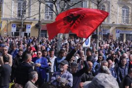 Albania's Opposition Calls Another Large Protest in April