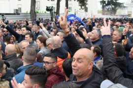 Opposition Holds Weekly Protest Against Government