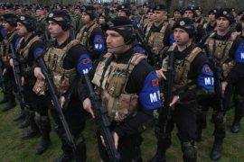 Albanian Military Deployed as Airport Security