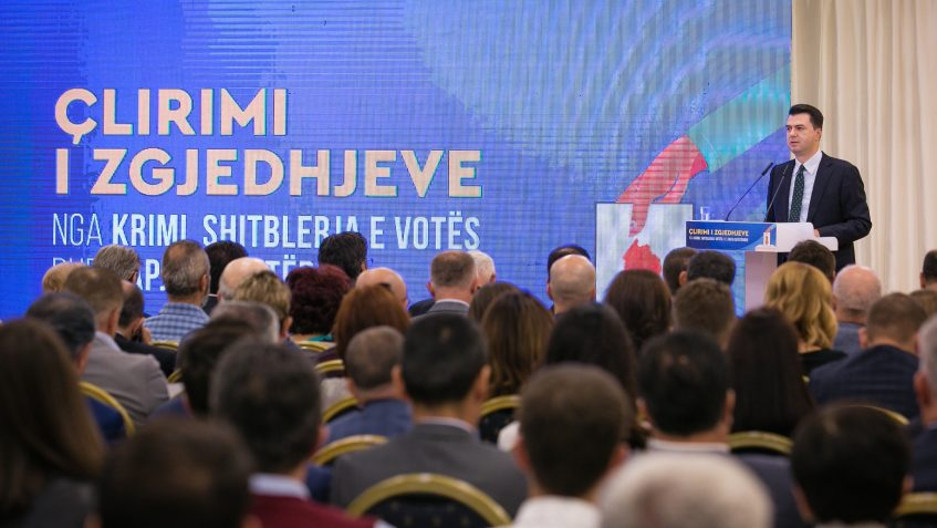 Albanian Opposition Detail Basic Requirements for Free and Fair Elections