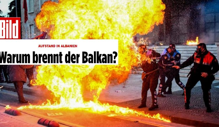 UPDATE: Albanian Government Imply Critical Article in 'Bild' Was Paid for by Opposition