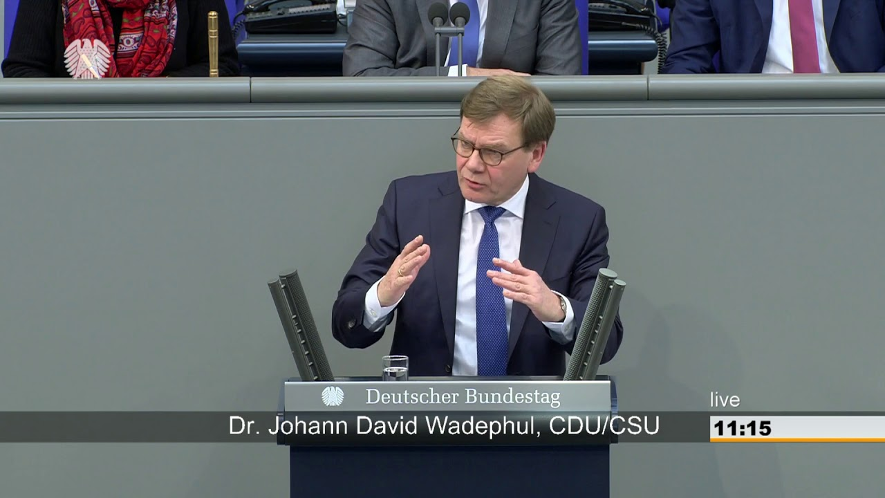 CDU's Wadephul: No Launch of Negotiations Prior to Addressing Vote Buying And Rule of Law