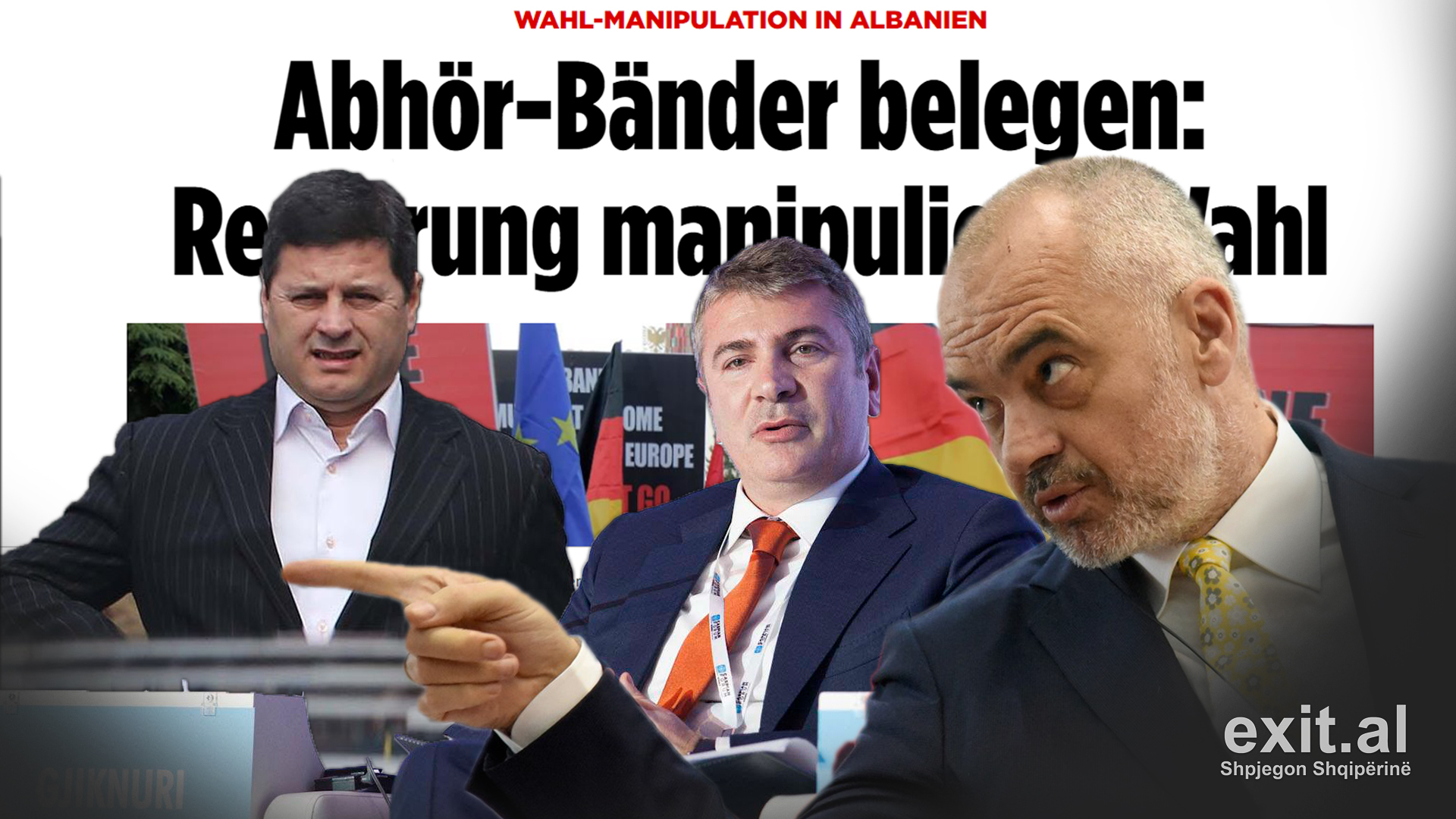New Bild Wiretaps Implicate PM Rama in Vote Buying and Blackmail