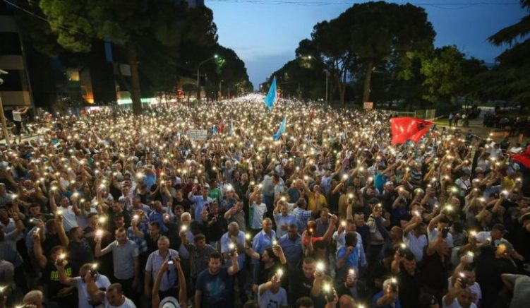 [UPDATED] Albania Opposition Protest Amid Deepened Political Crisis