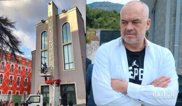 Prime Minister Rama: We Will Demolish the National Theater Building