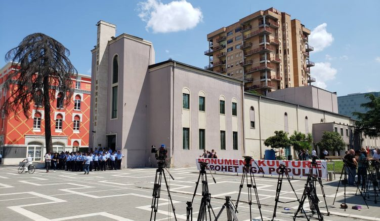 Mayor of Tirana: Theatre to Be Demolished 'Early Next Year'