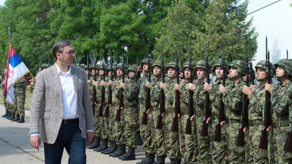 Vucic Grateful to Putin for 'Strengthening' Serbian Military