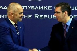 Albanian PM Urges Serbian President to Stop Blocking Kosovo Trade Trucks at the Border