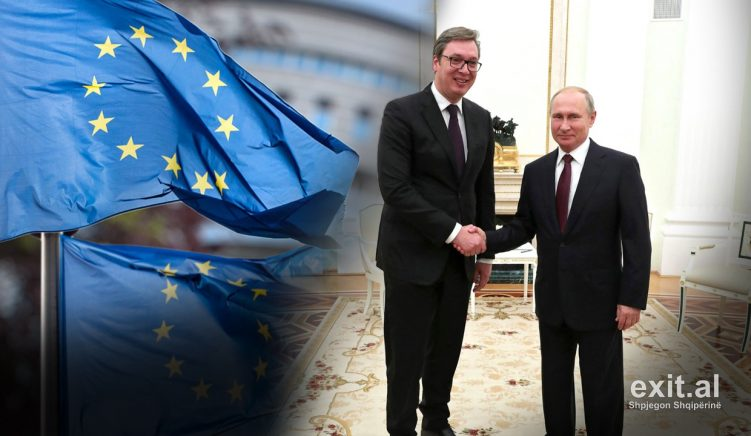 Serbia's Increasing Closeness To Russia Strains Its EU Ambitions