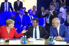 Merkel Suggests Separation of EU Bids by Albania and North Macedonia