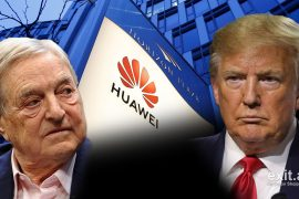 Soros Praises Trump For Imposing Sanctions on Huawei