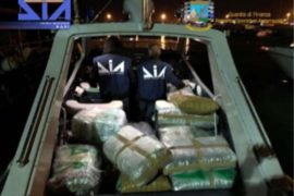 Drug Shipment Seized by Italian Authorities after Leaving Albania