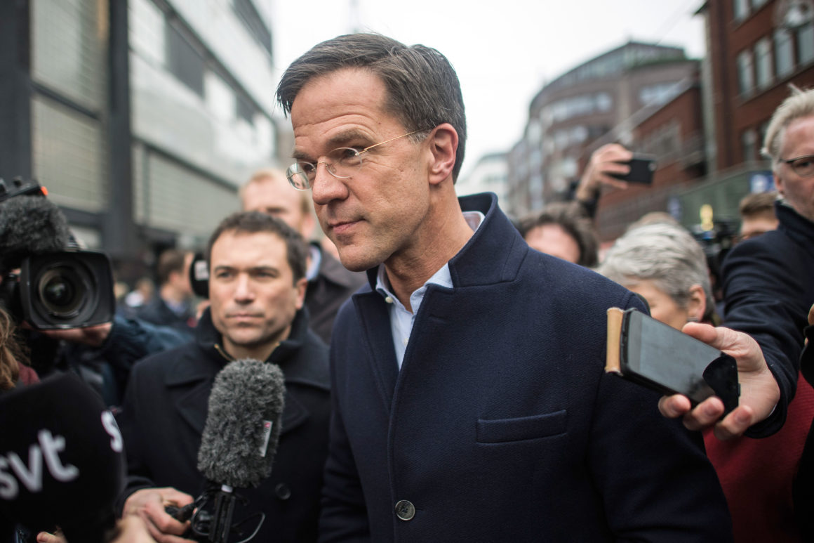 Dutch PM Rutte: 'Truly Concerned' about Albanian Progress