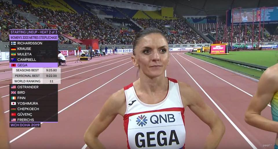Luiza Gega Becomes First Albanian Athlete In A World Championship