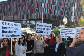 'Ring Road Women for Dignity' Protest at OSCE Mediterranean Conference
