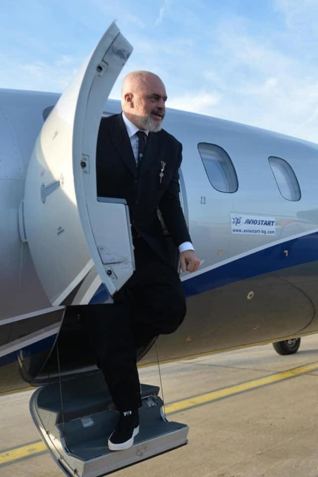 Aviostart: Cost of PM Rama's Private Charter to Belgrade Is 'Confidential'