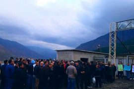 Albanian Miners Protest against Oligarch Undermining Their Union Activity
