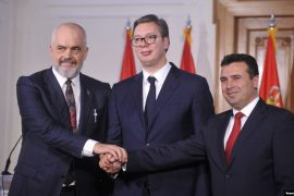 Rama, Vucic, Zaev Resume Mini-Schengen Initiative, Invite Kosovo to Join