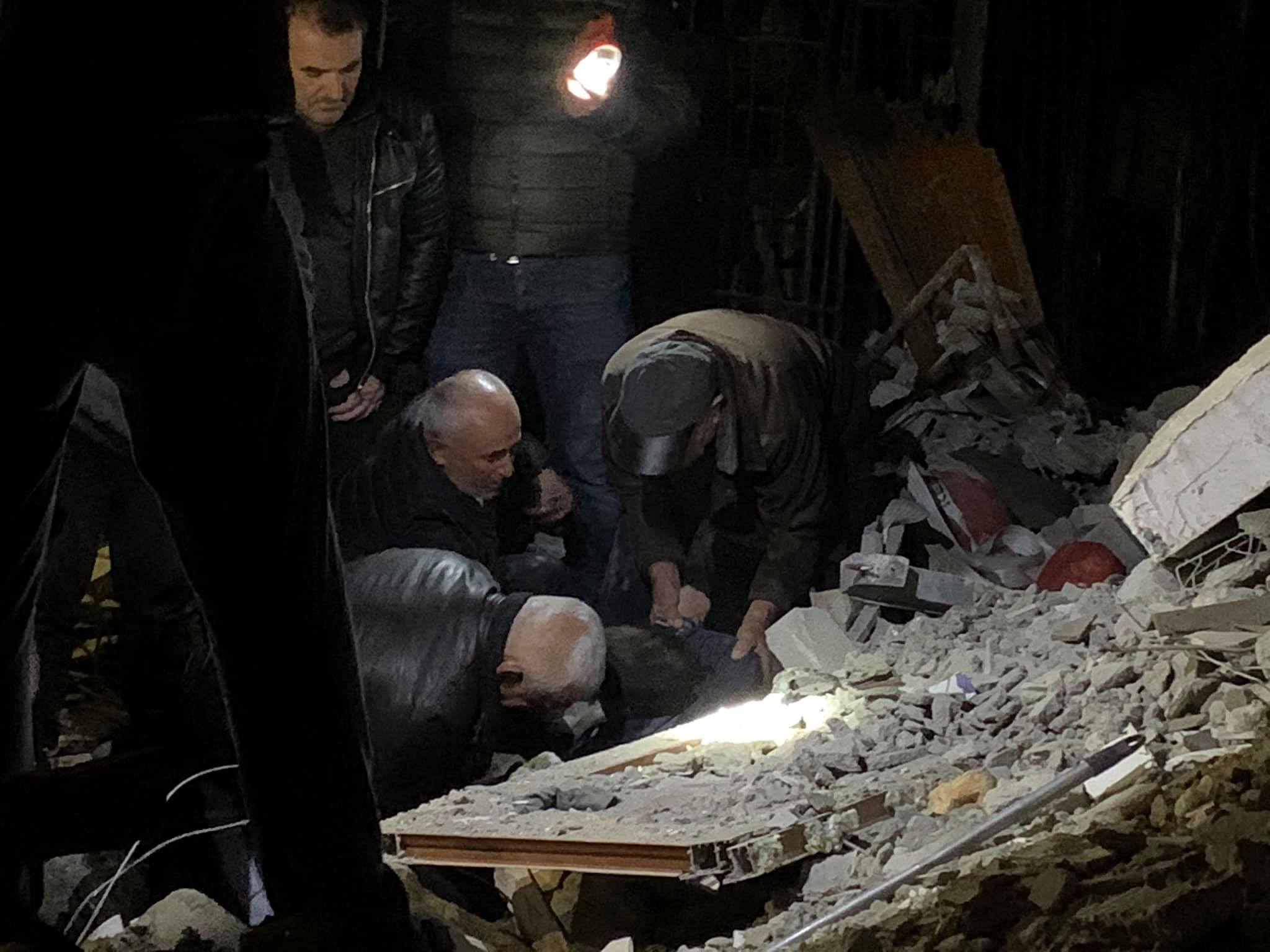 Rescuers search rubble after most powerful tremor in decades — Albania quake