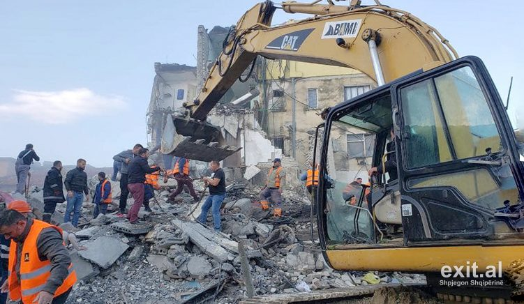 Nine Persons Arrested over Collapsed Buildings in Albanian Earthquake
