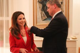Jonila Godole Recognised by Austrian President for Her Work Promoting the Country's Culture