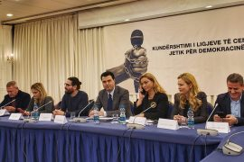Opposition Pledges Solidarity with Albanian Journalists, Plans to Repeal Laws If Elected
