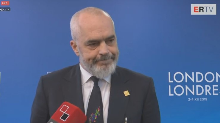 PM Rama Asks for European Support at NATO Summit after Devastating Quake