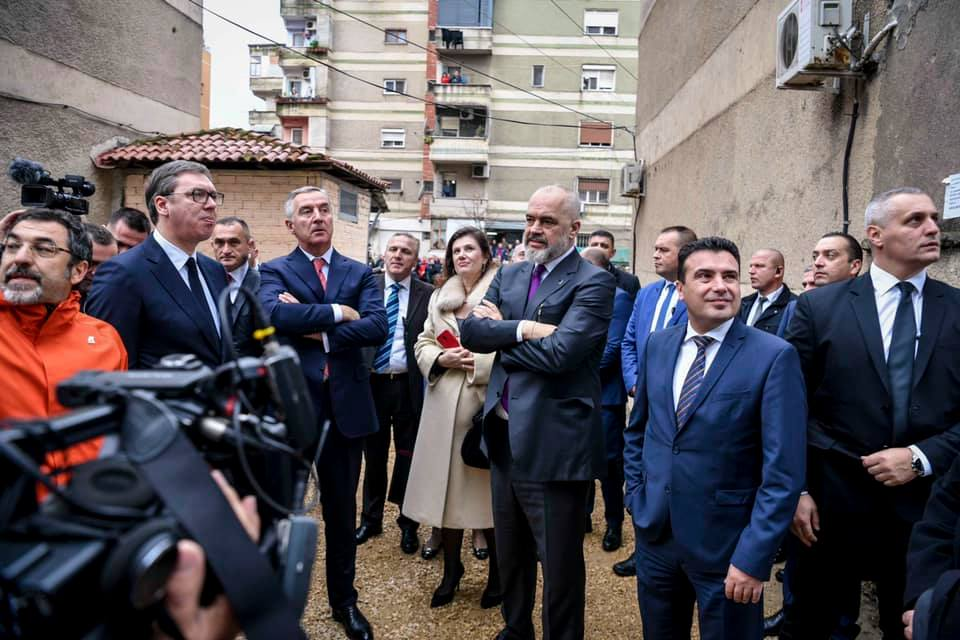 Balkan Leaders Promise Support for Albanian Quake Victims