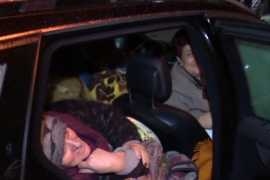 Tirana Family Living in Car Two Months After Albanian Earthquake