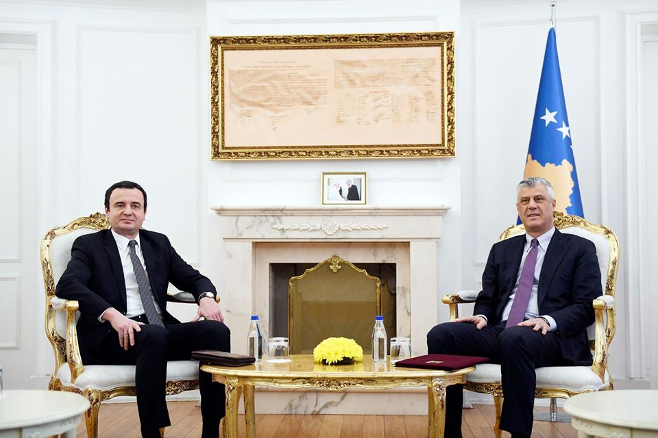 Kosovo' PM Receives New Mandate to Form Government following No-Confidence Vote in Parliament