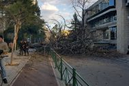 High Winds and Low Temperatures Cause Damage across Albania