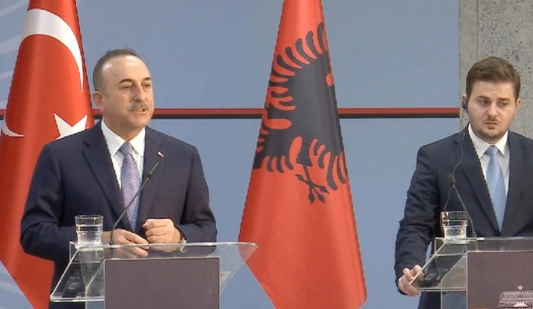 Turkish Foreign Minister Urges Albanian Govt. to Hand Over More Gulenists