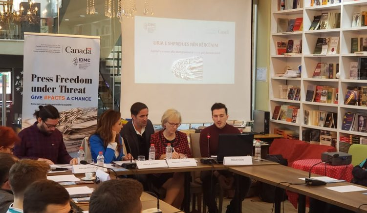 Media Conference: 2019 Was a Particularly Difficult Year for Media Freedom in Albania
