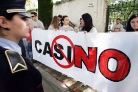 Albanian Police Bust Illegal Gambling Ring