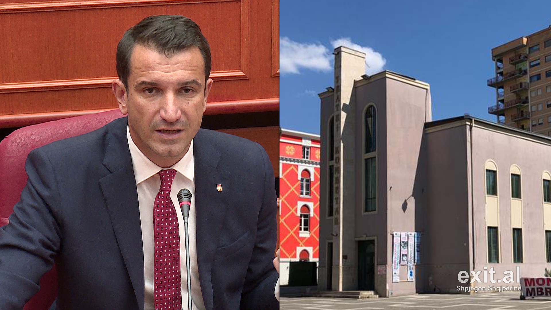 Tirana Mayor Erion Veliaj Determined to Demolish National Theatre
