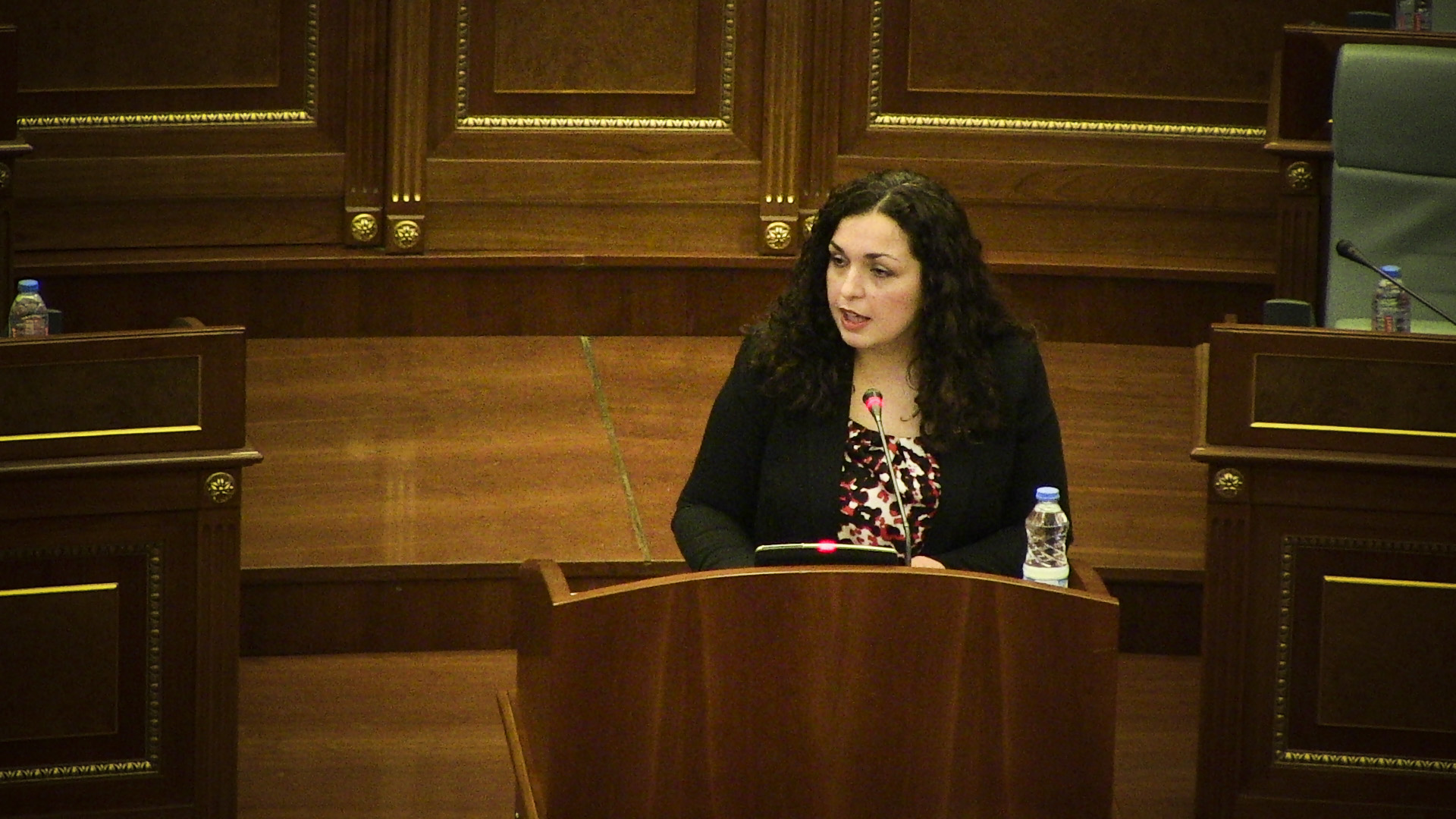 Kosovo Parliament Not Informed on Signed Agreements with Serbia, Says Speaker Osmani