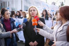 Opposition Holds Awareness March on World Cancer Day