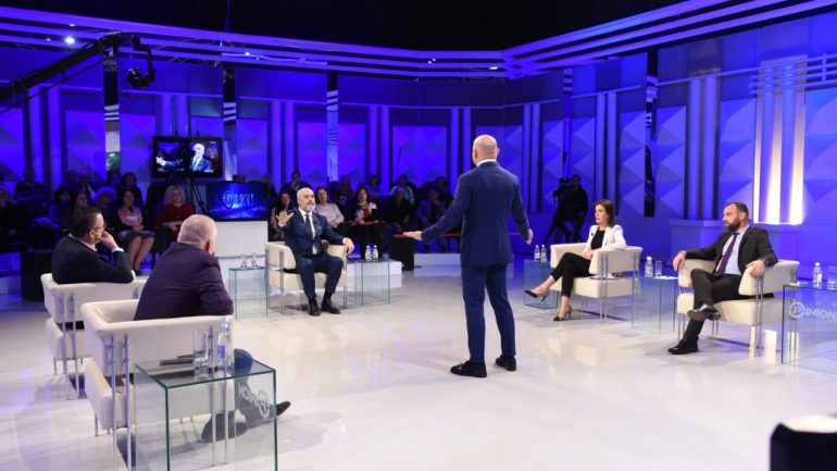 Prime Minister Edi Rama Verbally Attacks Journalists Live on Television