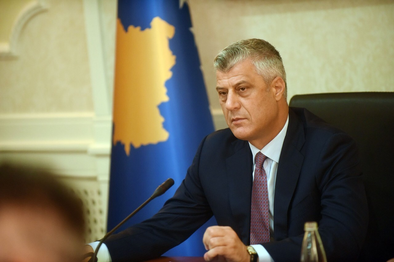Thaci Calls for Kosovo Political Unity for Deal with Serbia under US Leadership