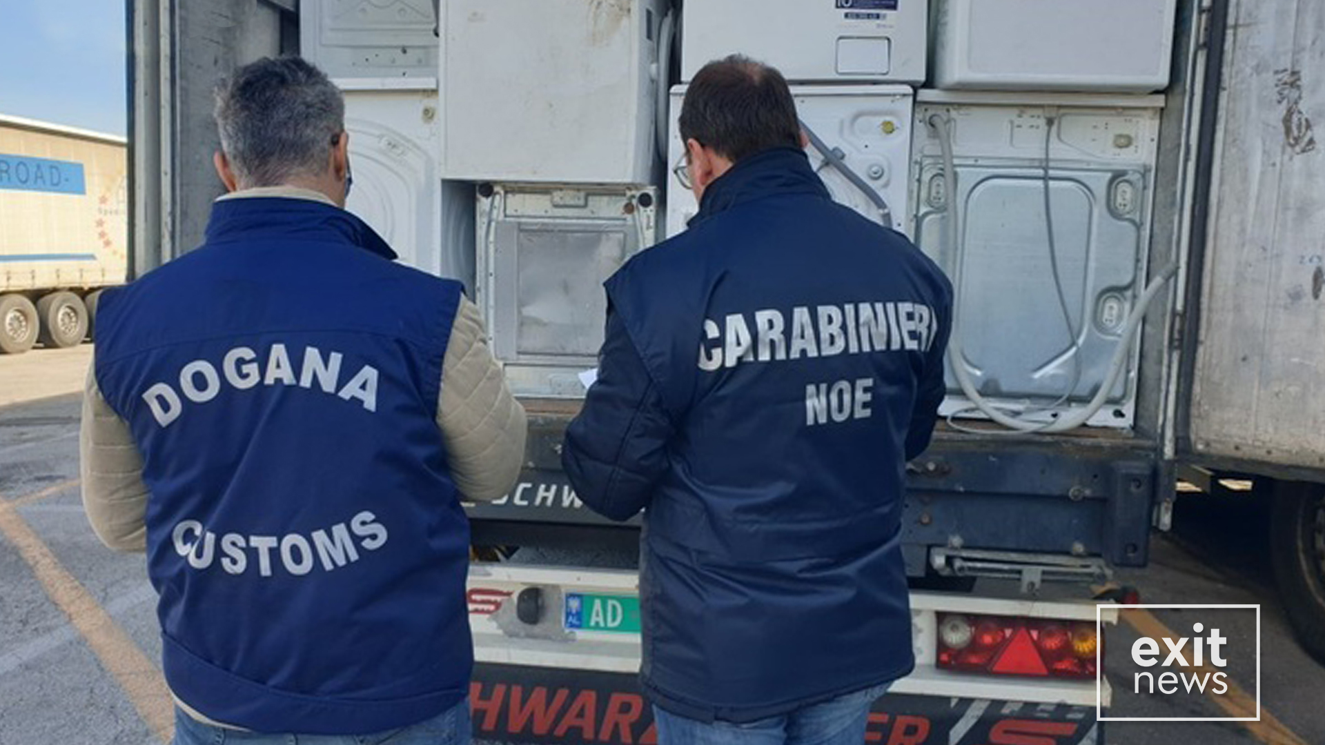 Italian Police Seizes 25 Tonnes of Waste Electrical Equipment Bound for Albania