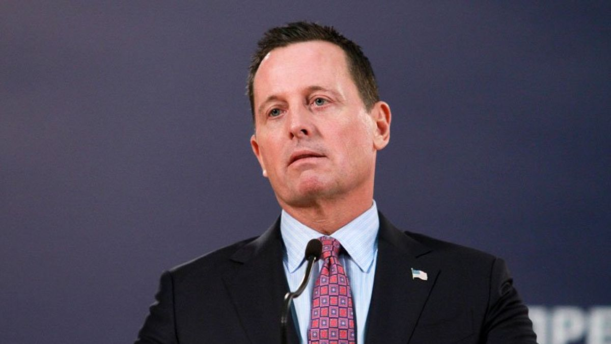 Grenell Denies Claims He's Mediating Thaci-Vucic Deal for Kosovo Partition