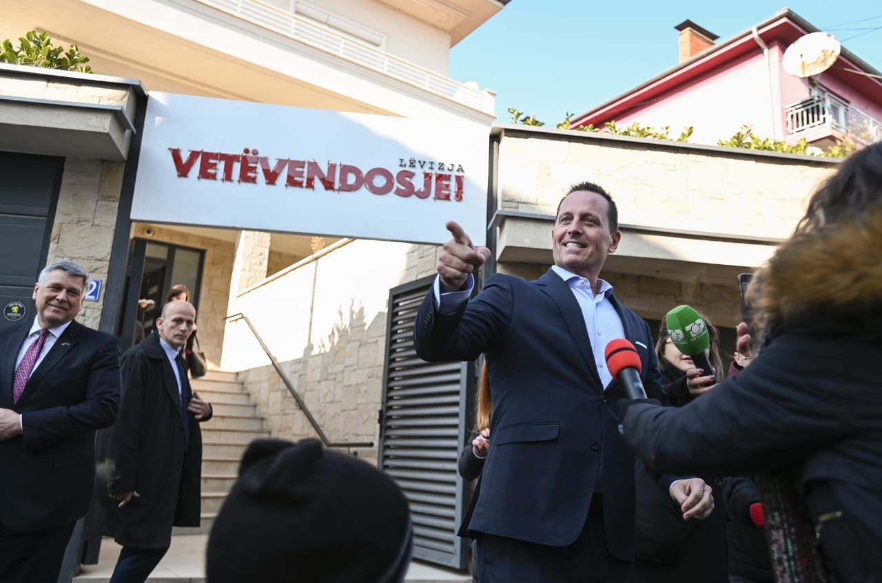 U.S. Envoy Richard Grenell Eager to Work with New Kosovo Government on Deal with Serbia