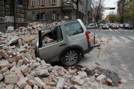 Croatia Hit by Strong Earthquake
