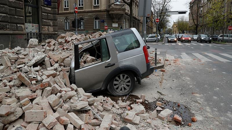 Strong quake  shakes Croatia, damages buildings