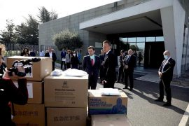 Hungary Donates Coronavirus Protective Equipment to Albania
