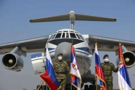 Serbia Receives 11 Planes with Coronavirus Aid from Russia