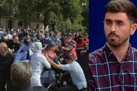 Engineer Denounces Albanian Police for Bursting Eardrum during National Theater Protests