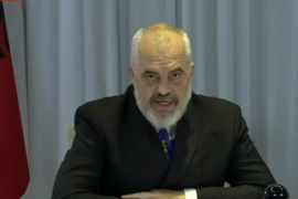 Albanian Prime Minister Rules Out Transitional Government Demanded by Opposition